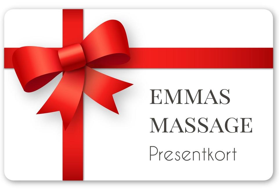 Presentkort på massage i Umeå